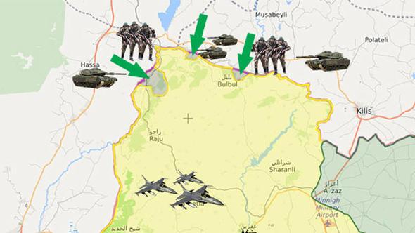 """Afrin harekatında son durum: """"Teröristlerin canı fena yandı"""""""