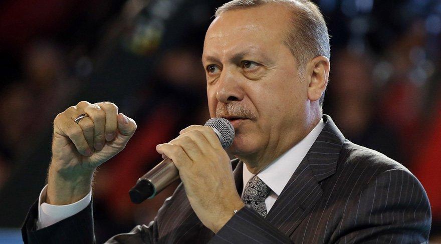 Erdoğan: Mehmetimiz Afrin'e doğru yürüyor.