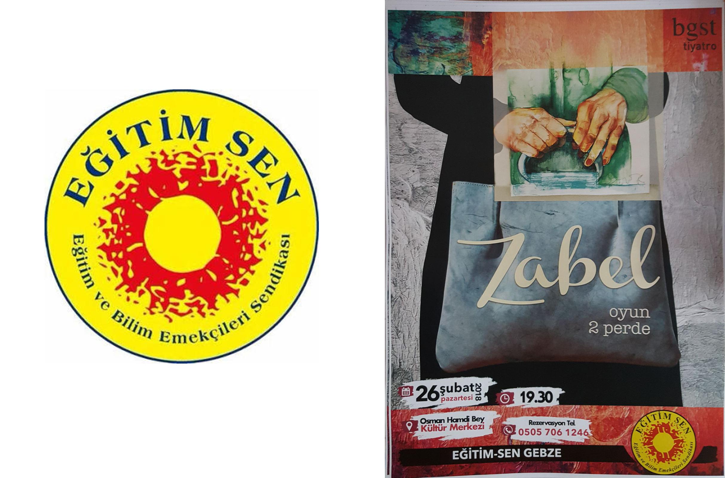 EĞİTİM-SEN Gebze Şubesinden Tiyatro Gösterimi ''Zabel''