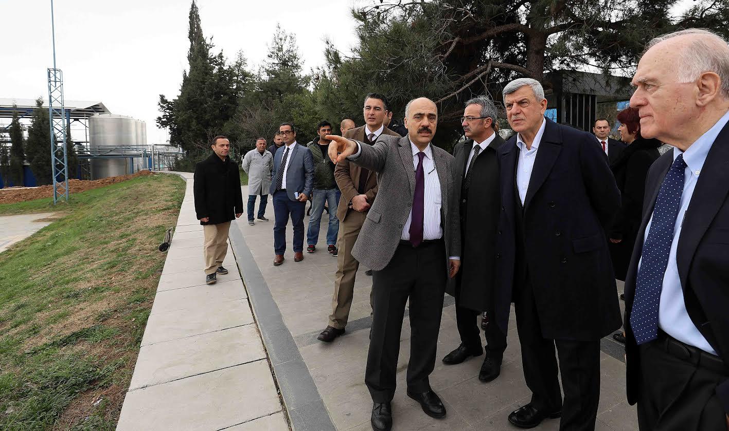 Karaosmanoğlu Atabay'ı ziyaret etti