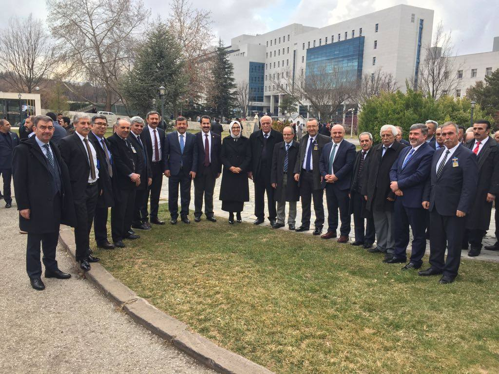 Darıcalı muhtarlar Erdoğan'ı dinledi