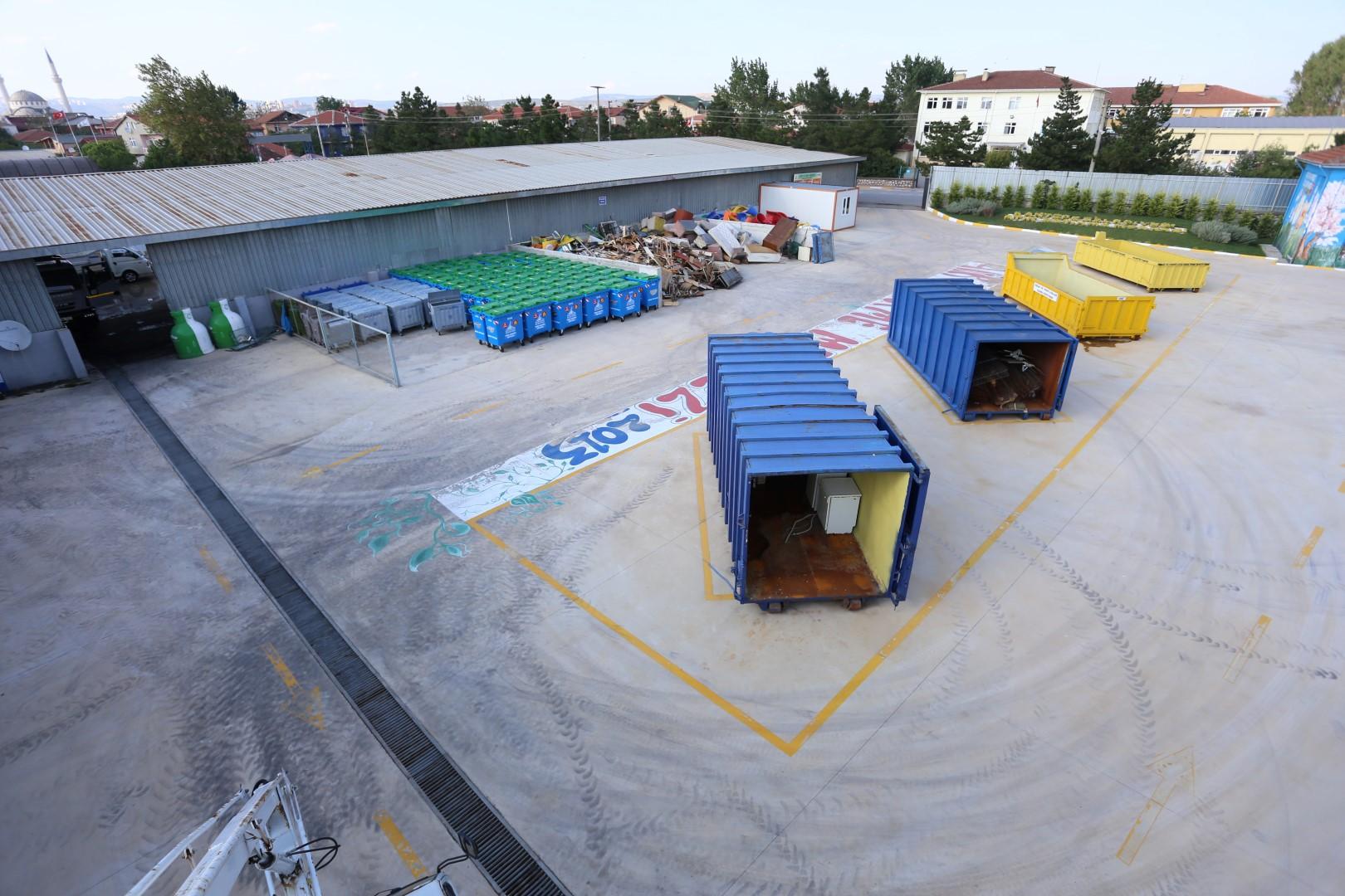 55 bin 682 ton atık bertaraf edildi