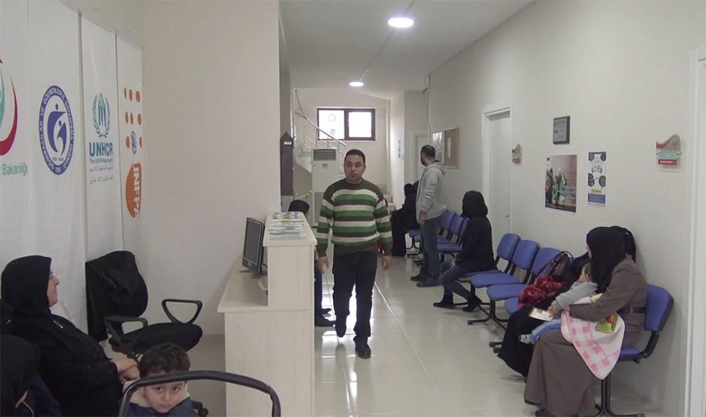 Darıca'da Suriyeliler için   sağlık  merkezi