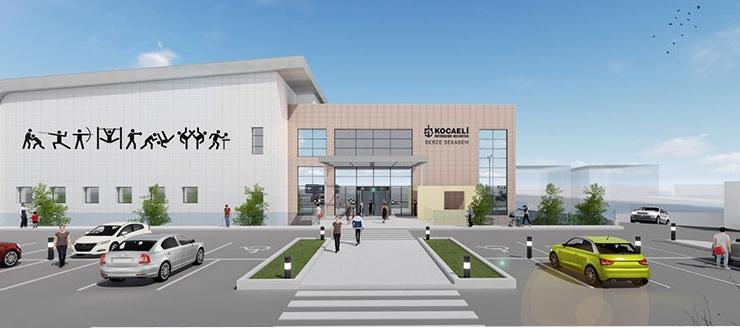Gebze'de sporcu eğitim merkezi