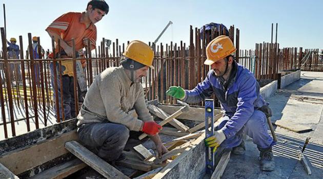 Yabancı uyruklu işçi sayısında büyük artış