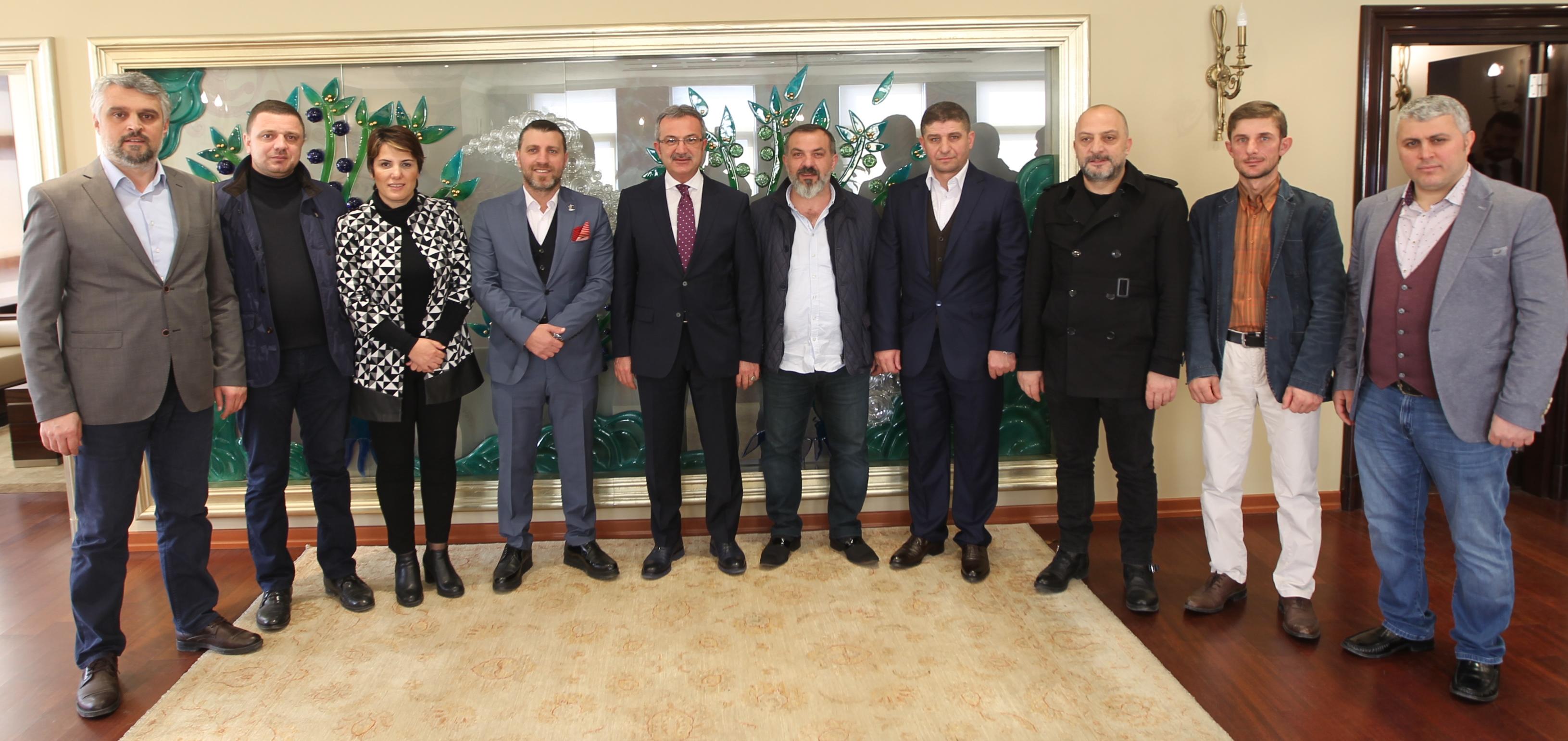 Trabzonlular Köşker'le buluştu