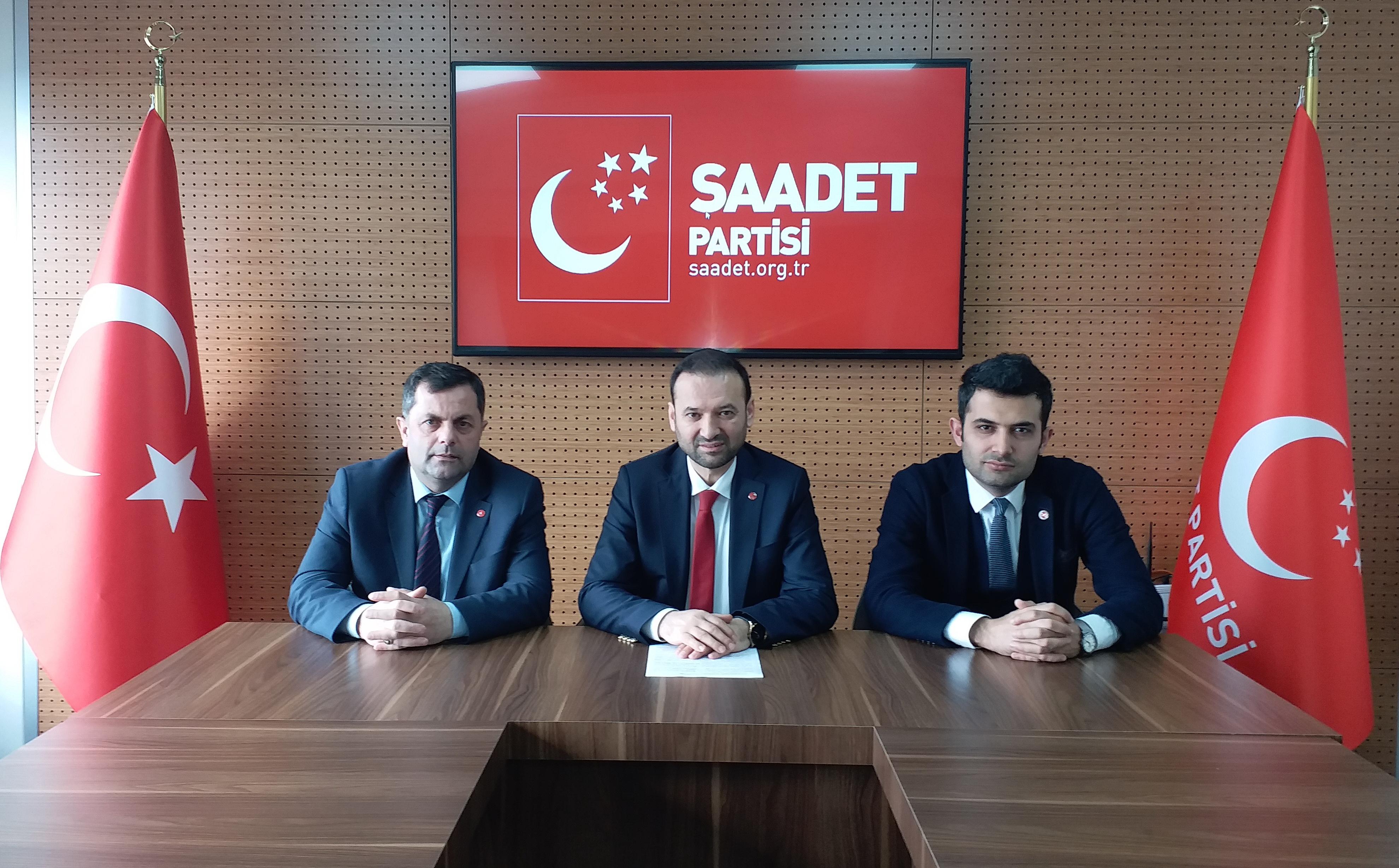 """Saadet Partisi sevgi dilini kullanıyor"""