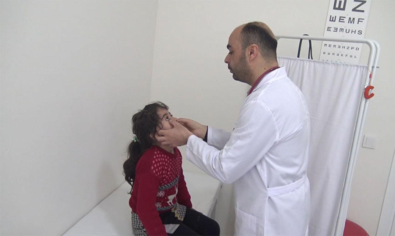 Suriyeliler için sağlık ve danışma merkezi