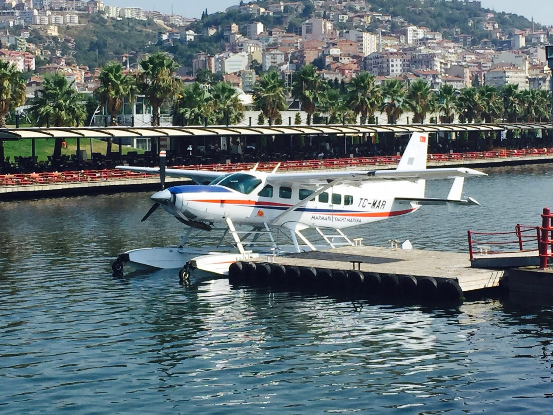 Deniz uçağı Marmara'yı denetleyecek