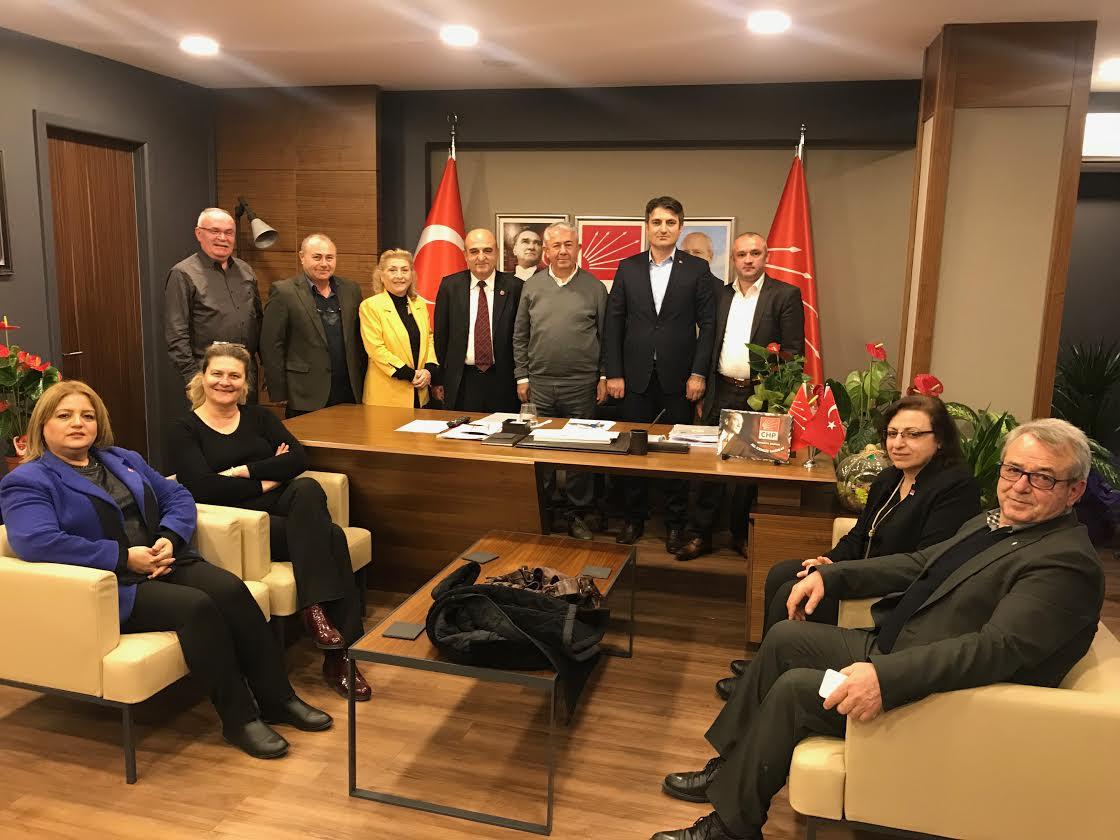 Kocaeli Sinoplular'dan CHP'ye ziyaret