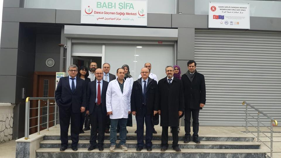 Darıca'ya göçmen sağlık merkezi