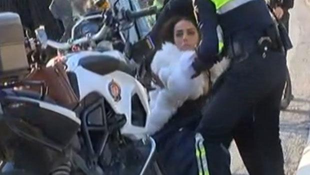 Şehitler Köprüsü yolunda polisi alarma geçiren olay