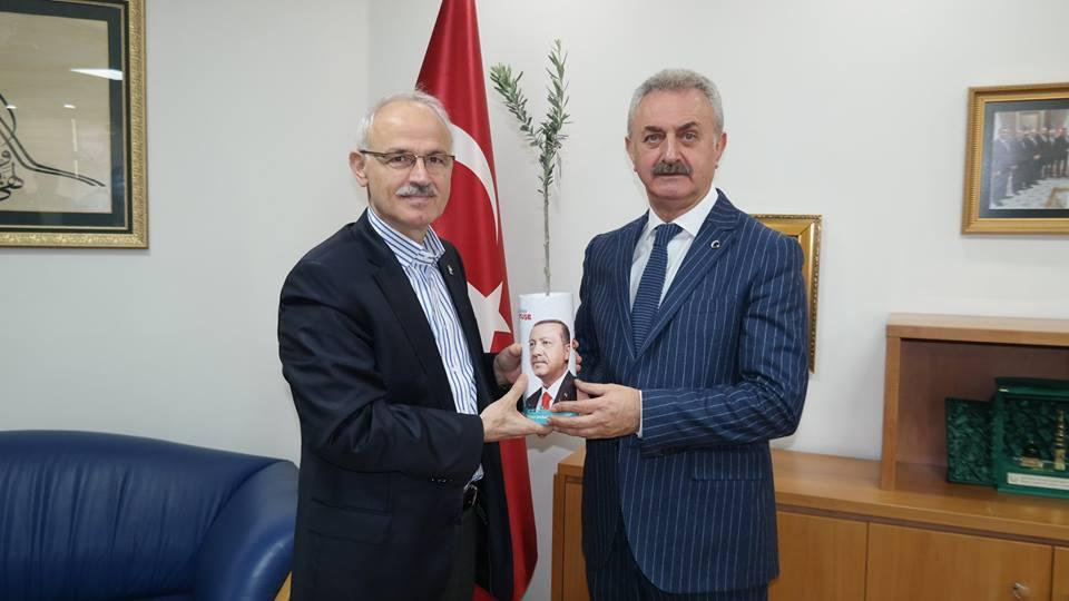 NAİL ÇİLER'İ DAVET ETTİ