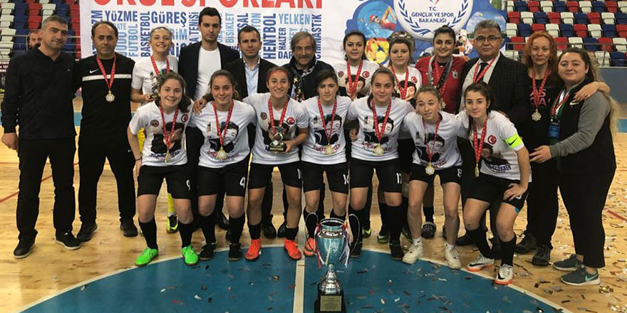 Barbaros Hayrettin Türkiye Şampiyonu oldu
