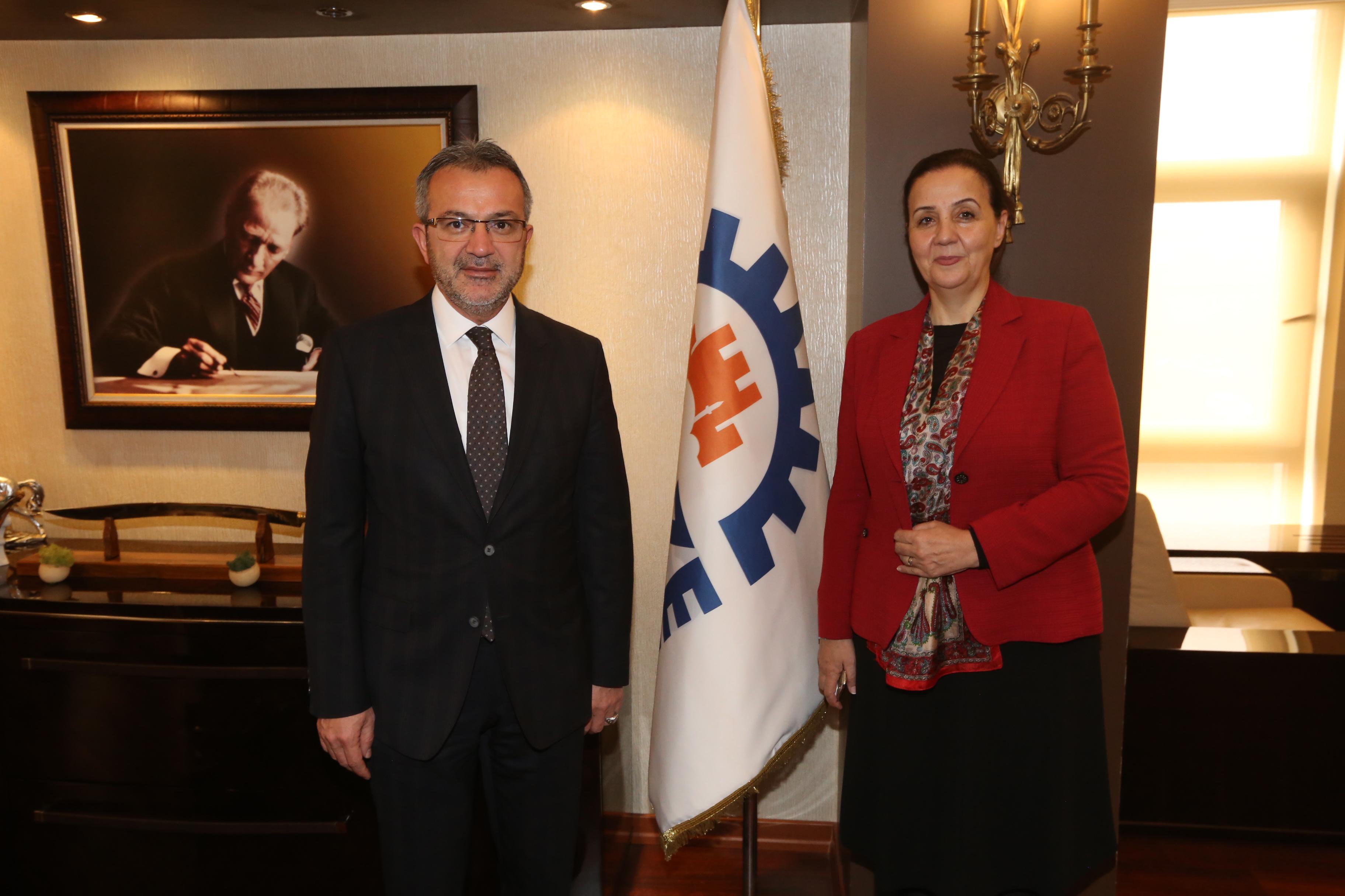 Köşker'e Zonguldak'tan konuk