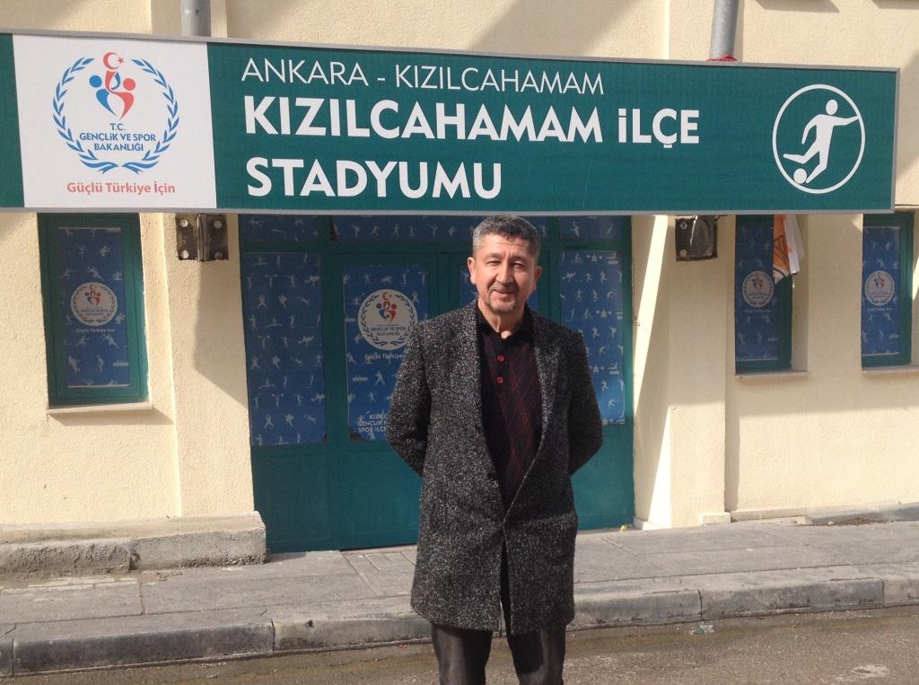 Rıdvan Şükür, Kızılcahamam'a hakemlik eğitimi için gitti