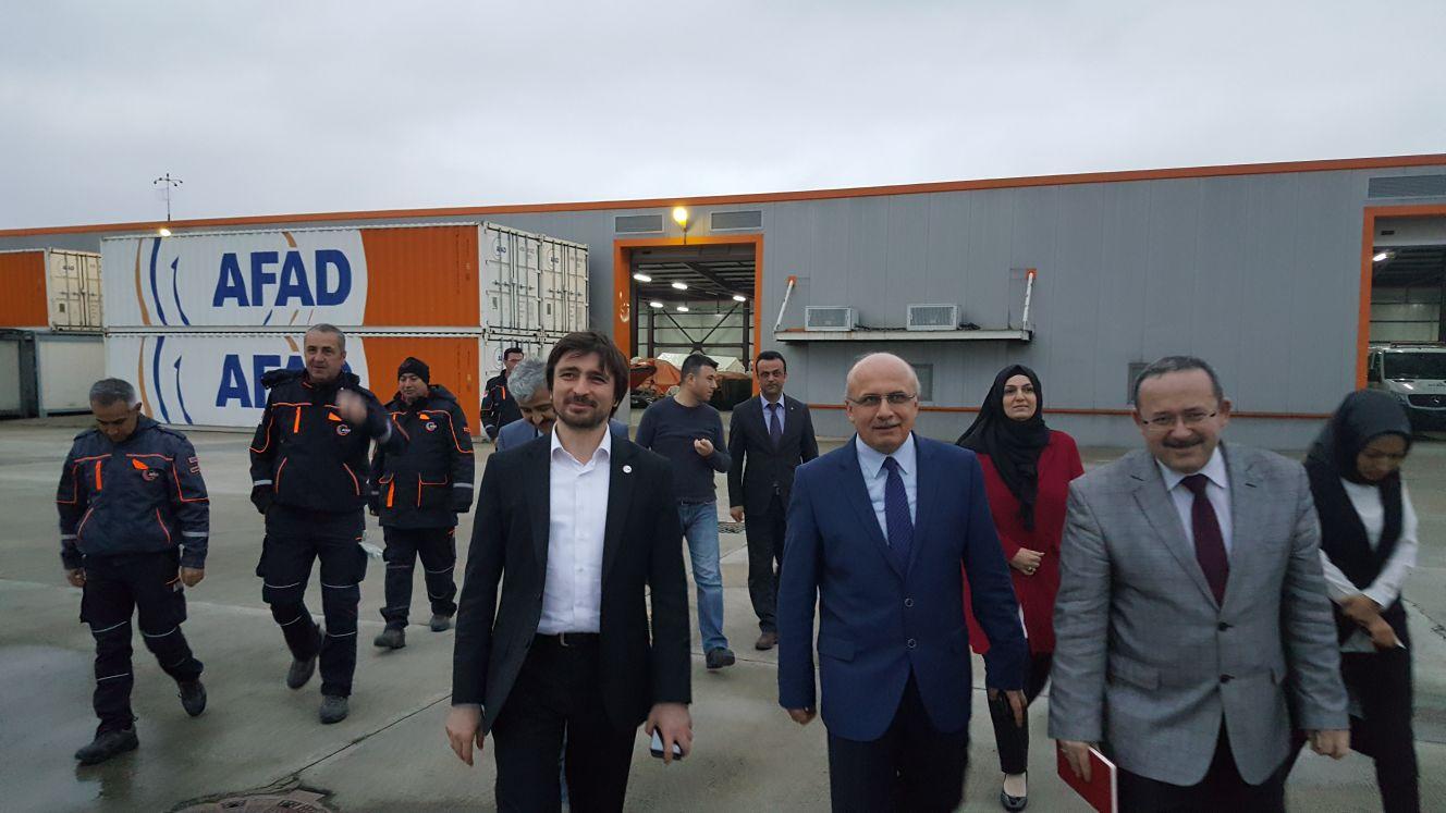 AFAD başkanı Kocaeli'ye geldi