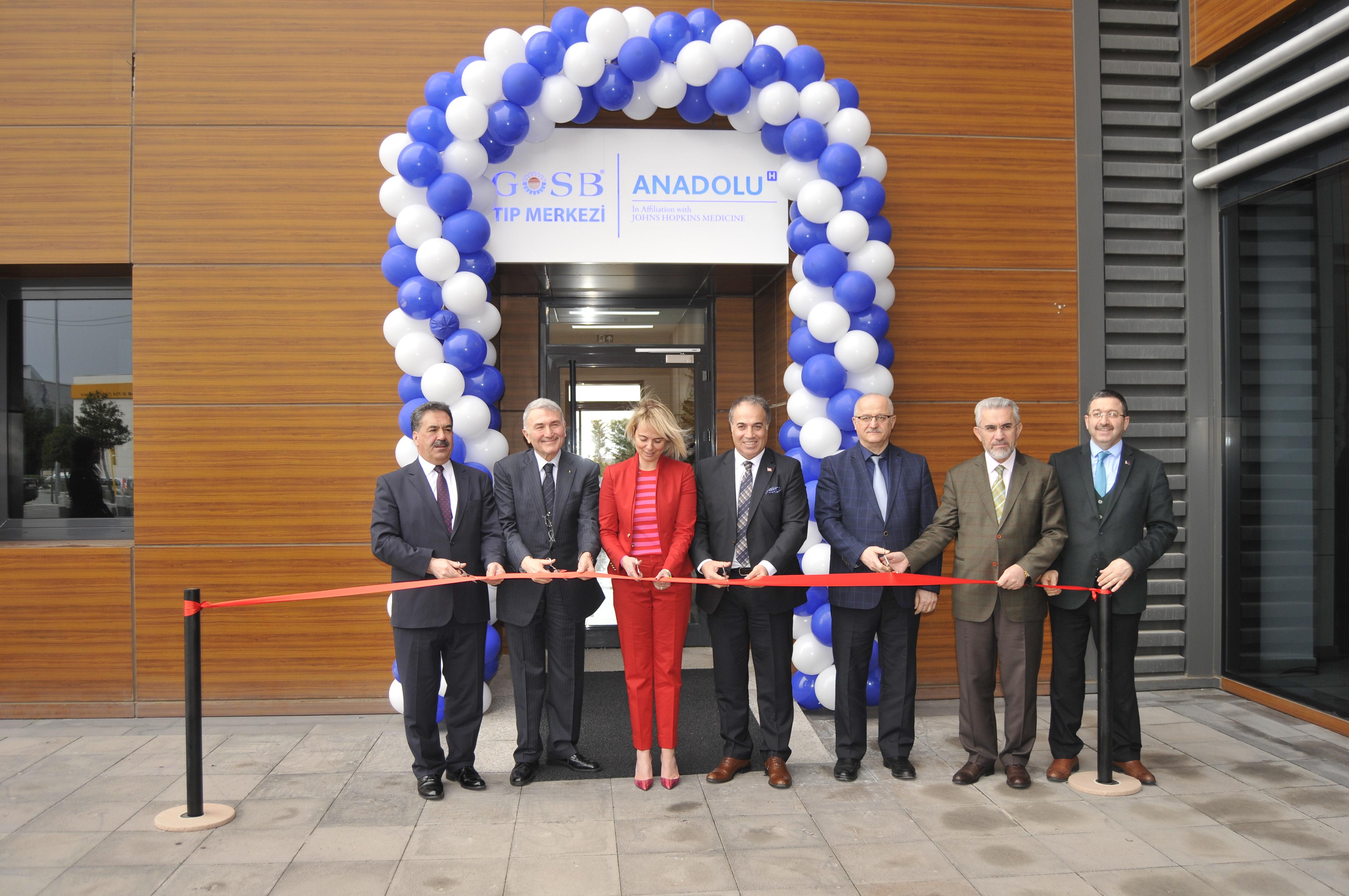 GOSB Tıp Merkezi açıldı