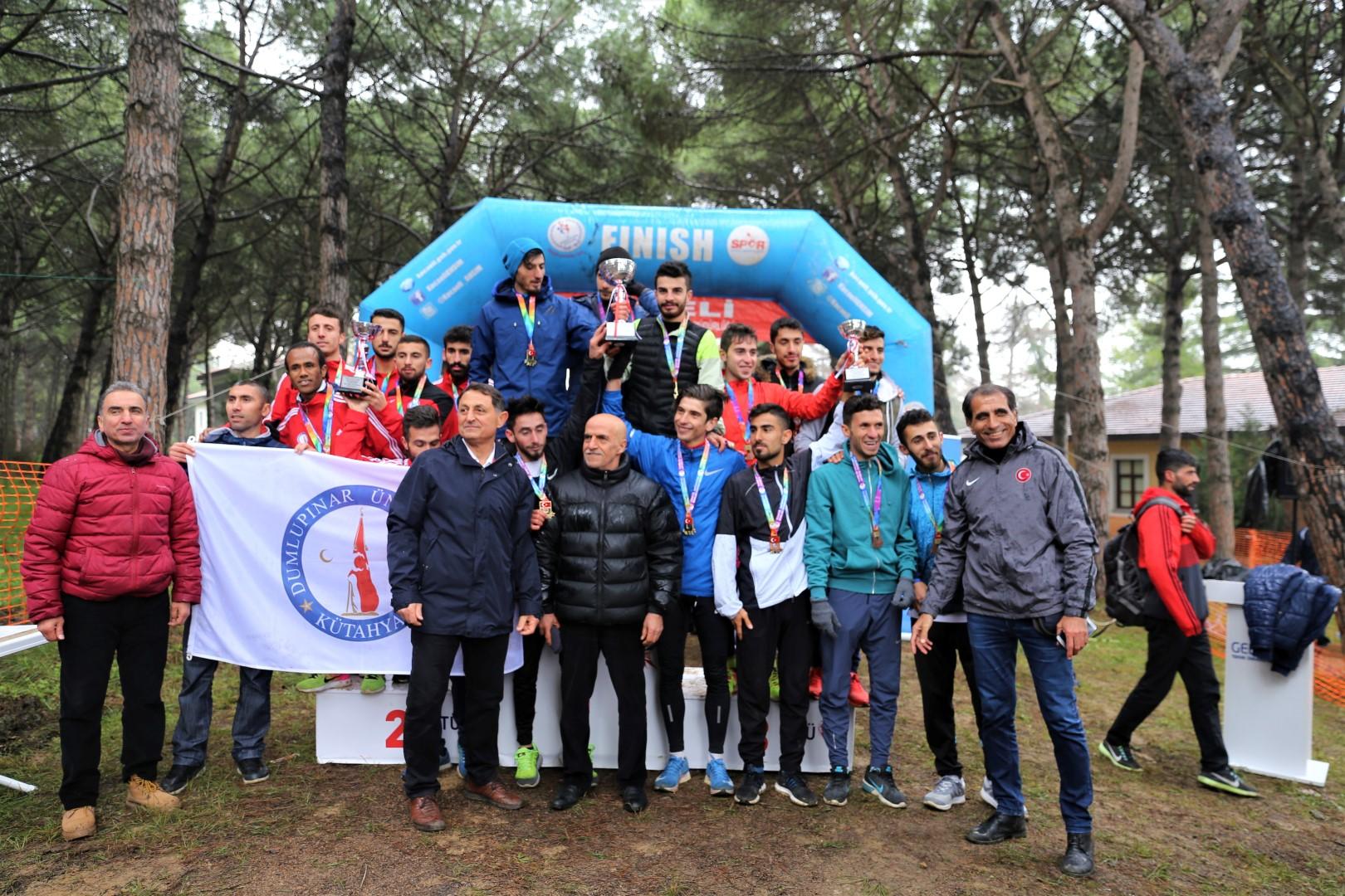 Üniversiteliler Gebze'de koştu