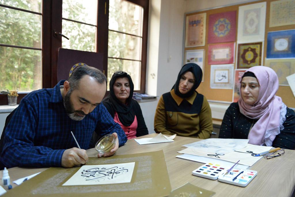 Geleneksel Türk Süsleme Sanatları yaşatılıyor