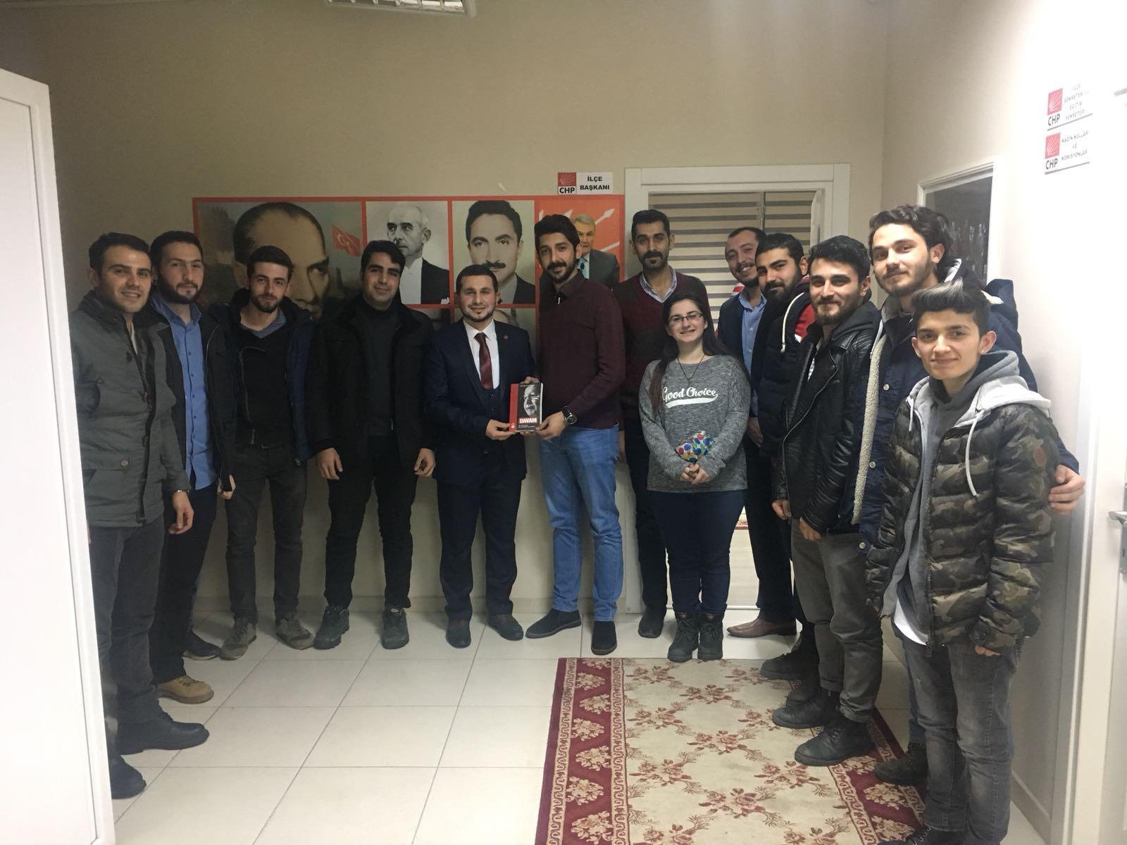 SP'li gençlerden CHP'li gençler ziyaret