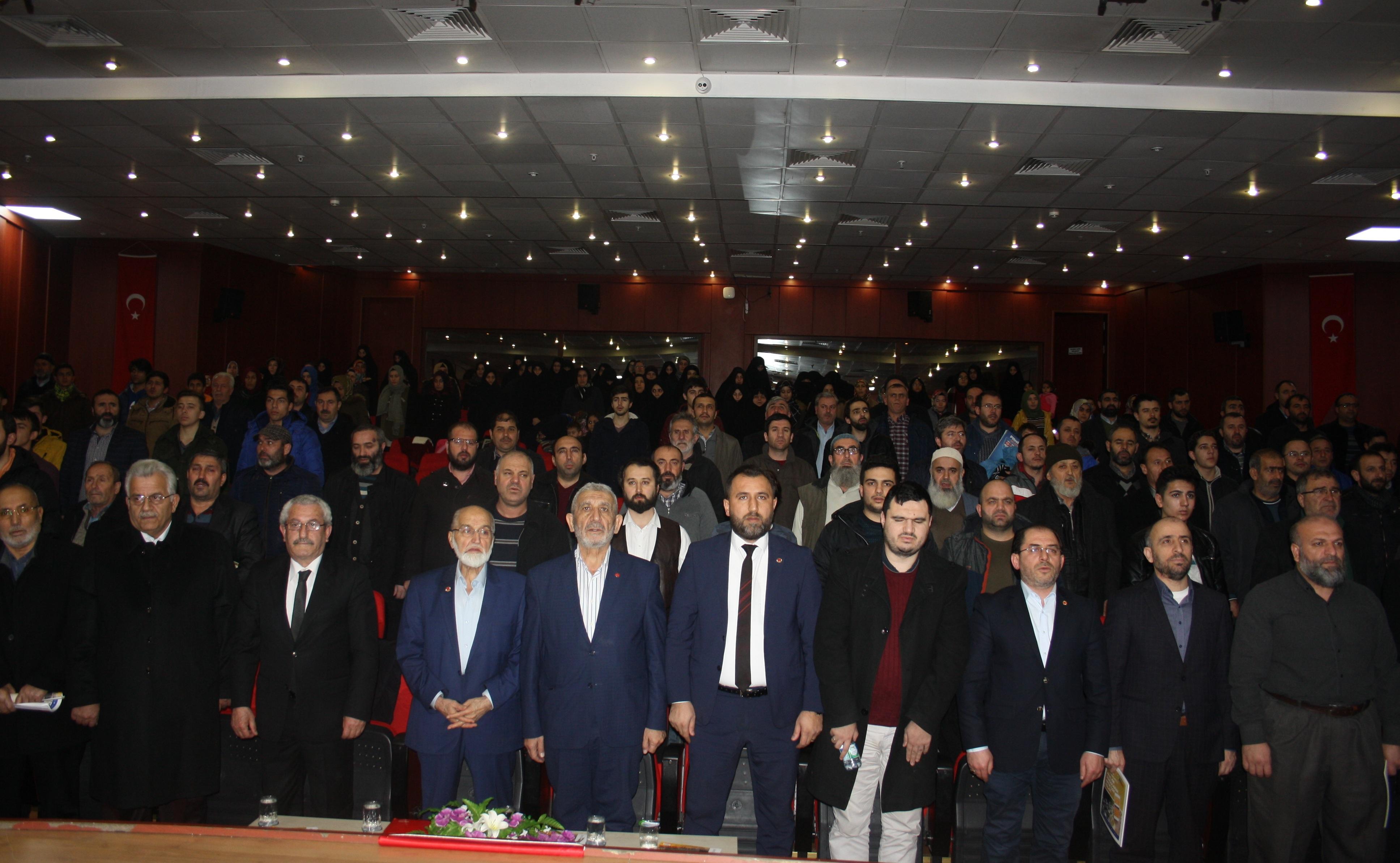 Çayırova'da Erbakan etkinliği