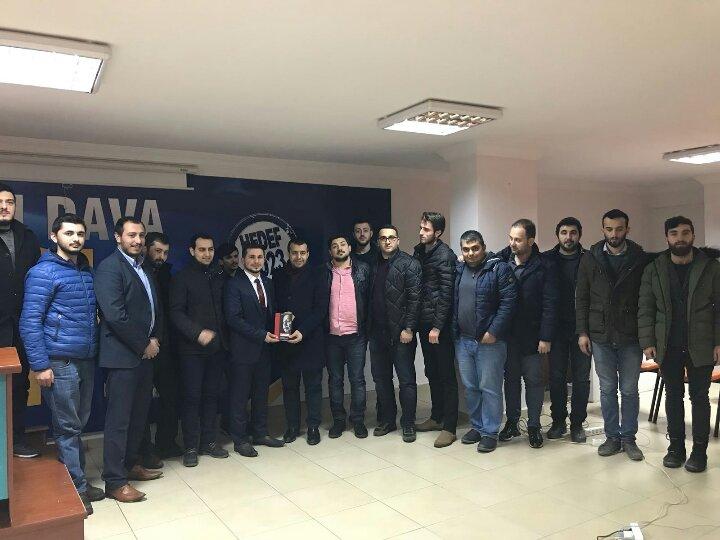 SP'li gençlerden AKP'li gençlere ziyaret