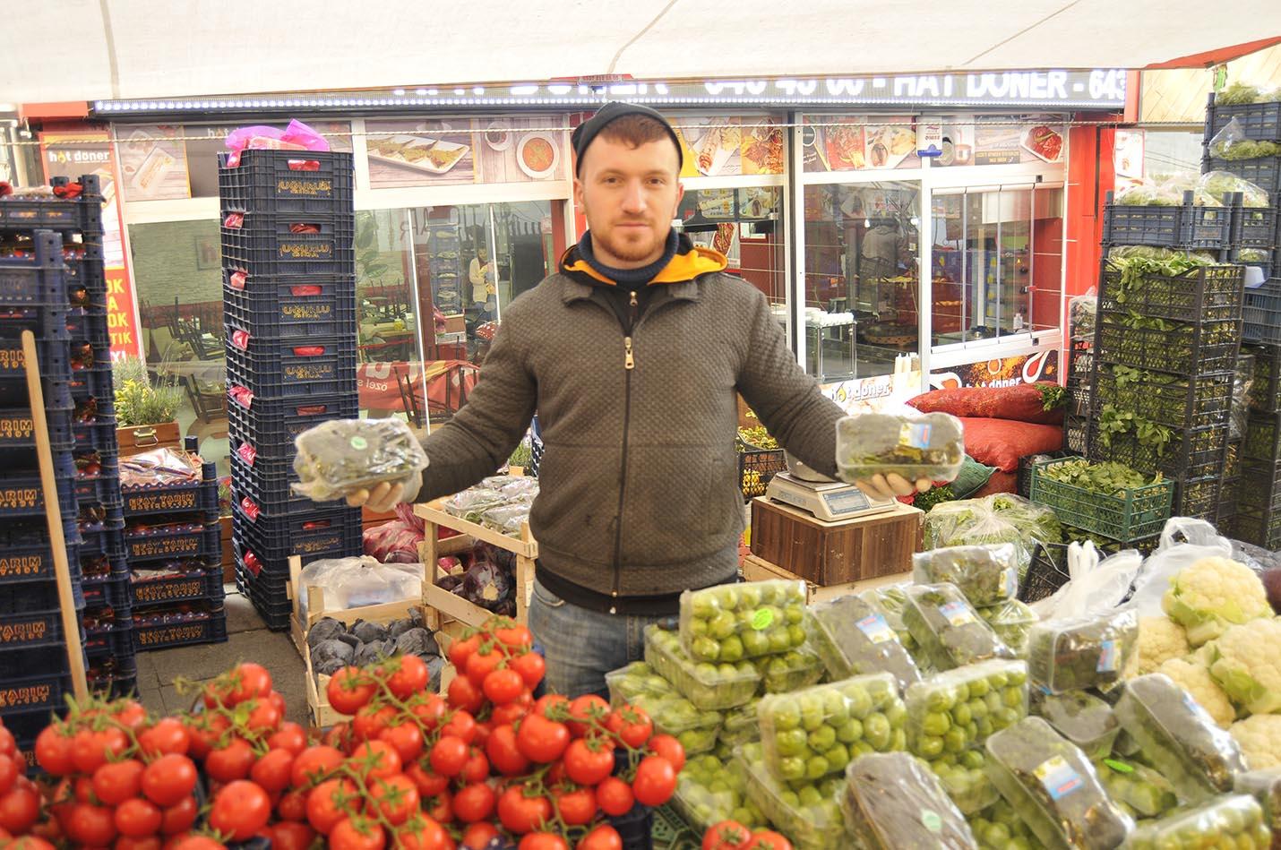 Pazarın zam şampiyonu brokoli