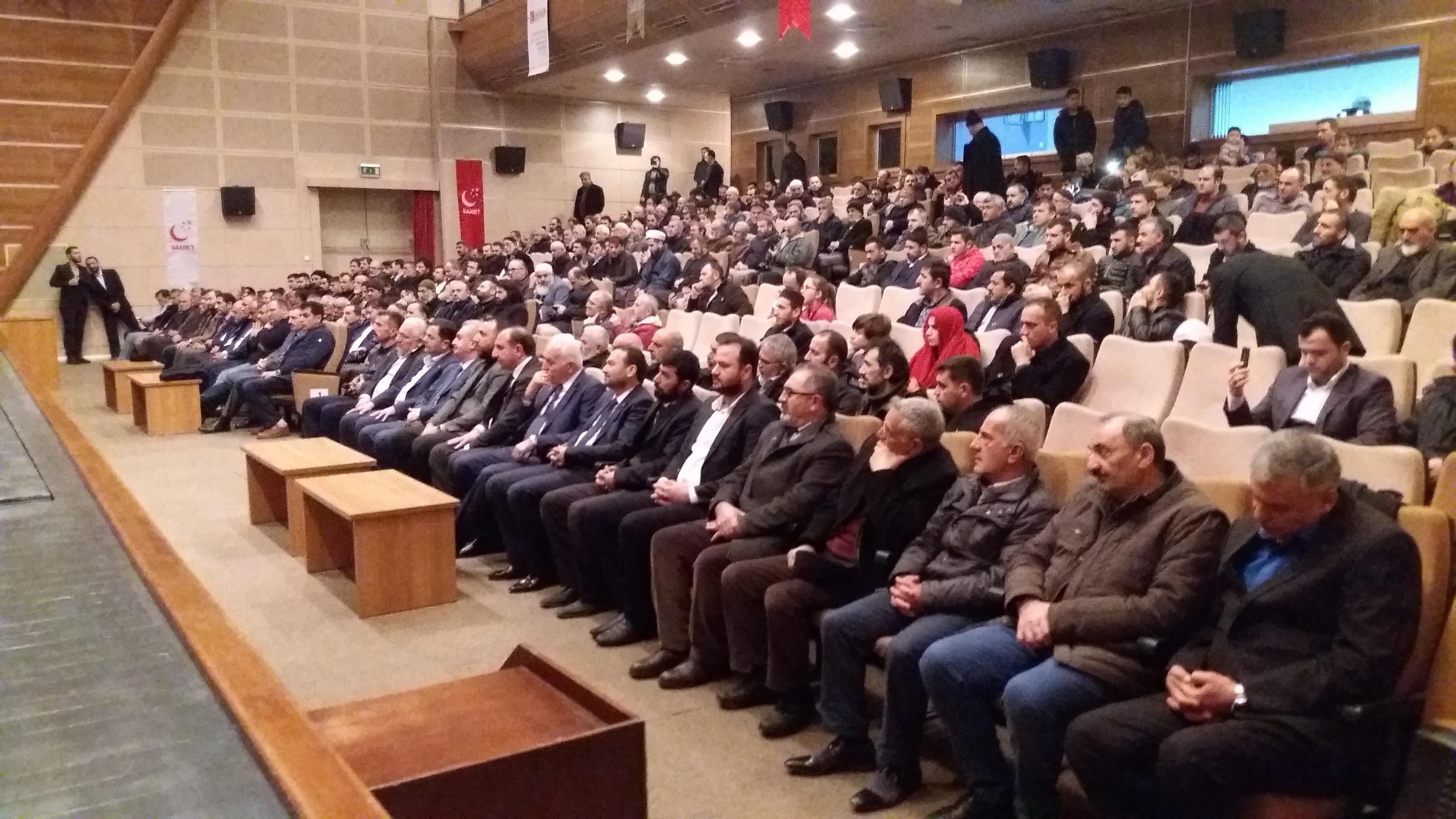 SP Gebze Erbakan'ı unutmadı
