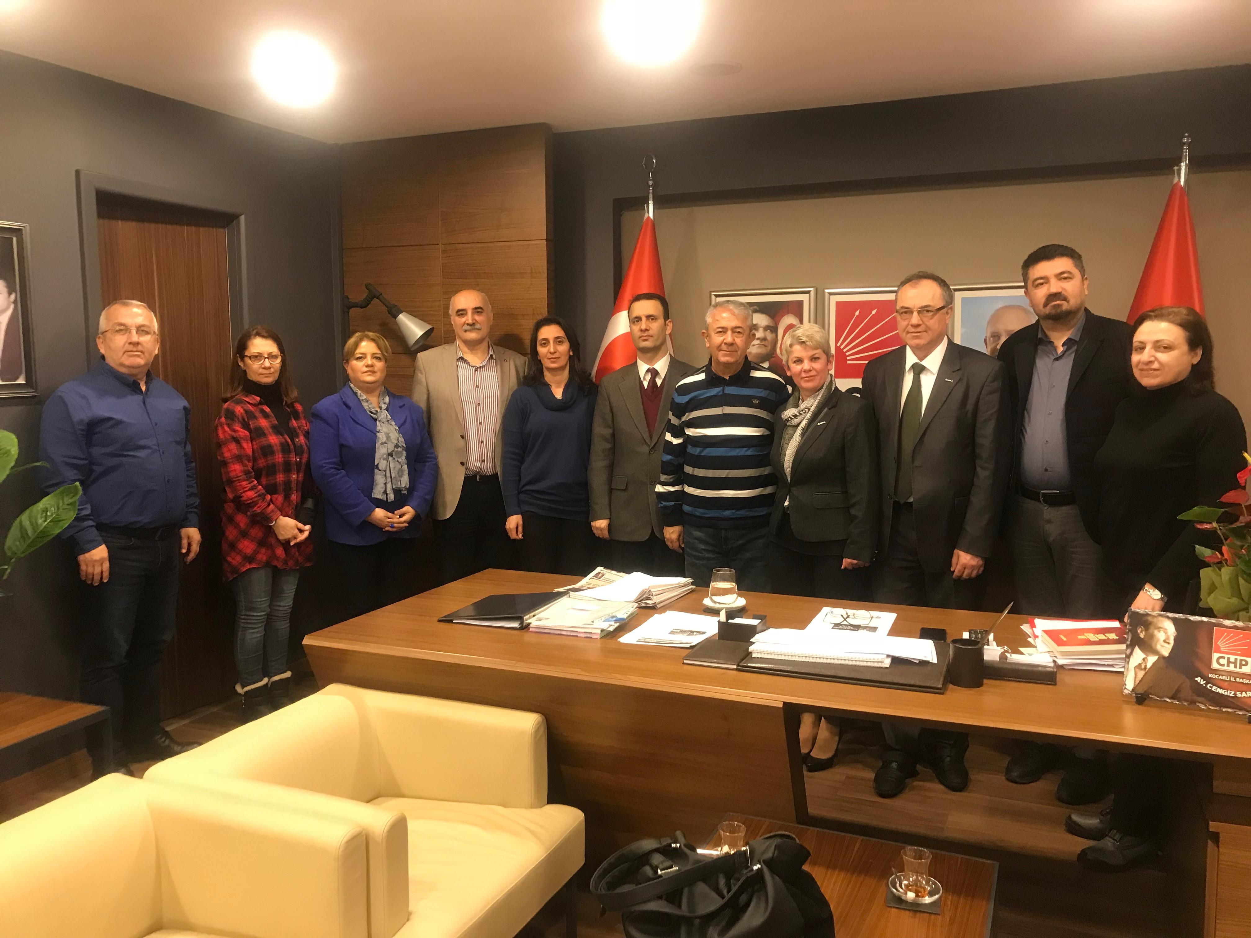 Eğitim İş'ten CHP ziyareti