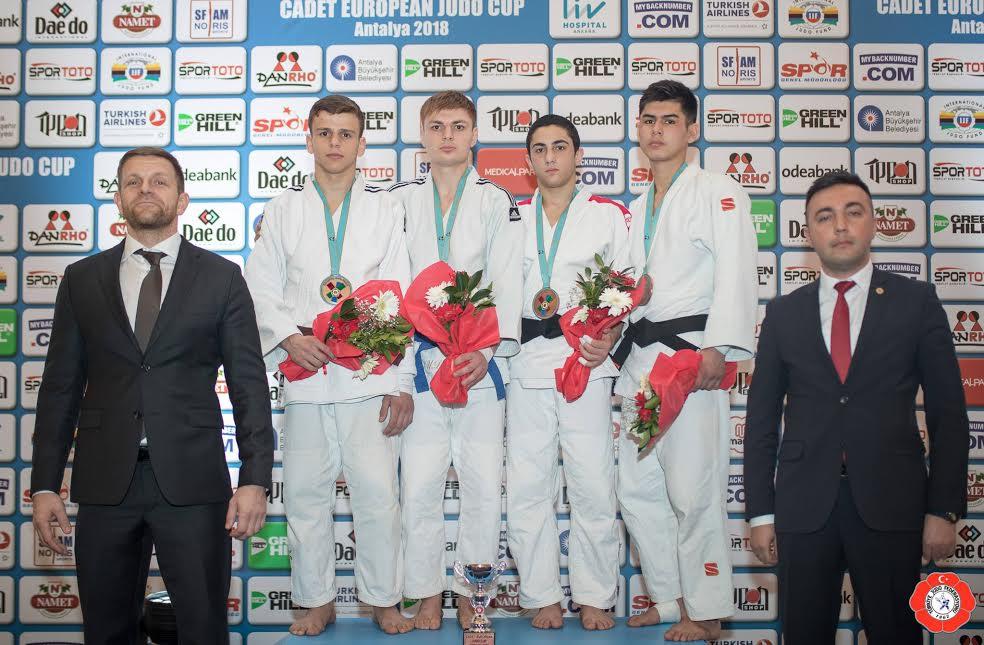 Judocular Milli Takımı zirveye taşıdı