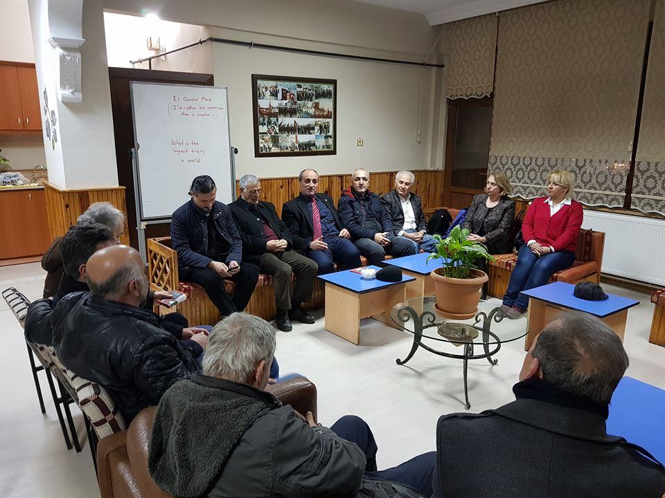 Balkan Türkleri Derneği'ne ziyaret