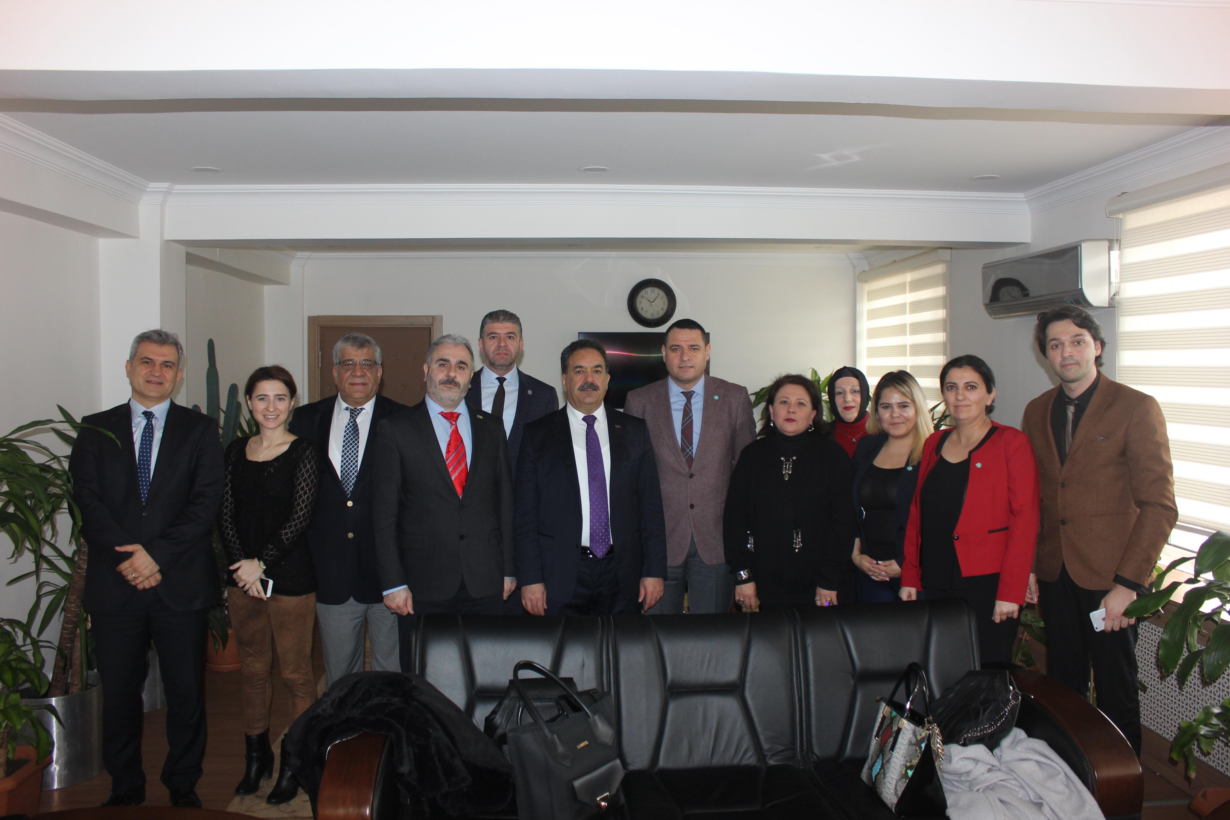 İYİ Parti'den Kaymakam Güler'e ziyaret