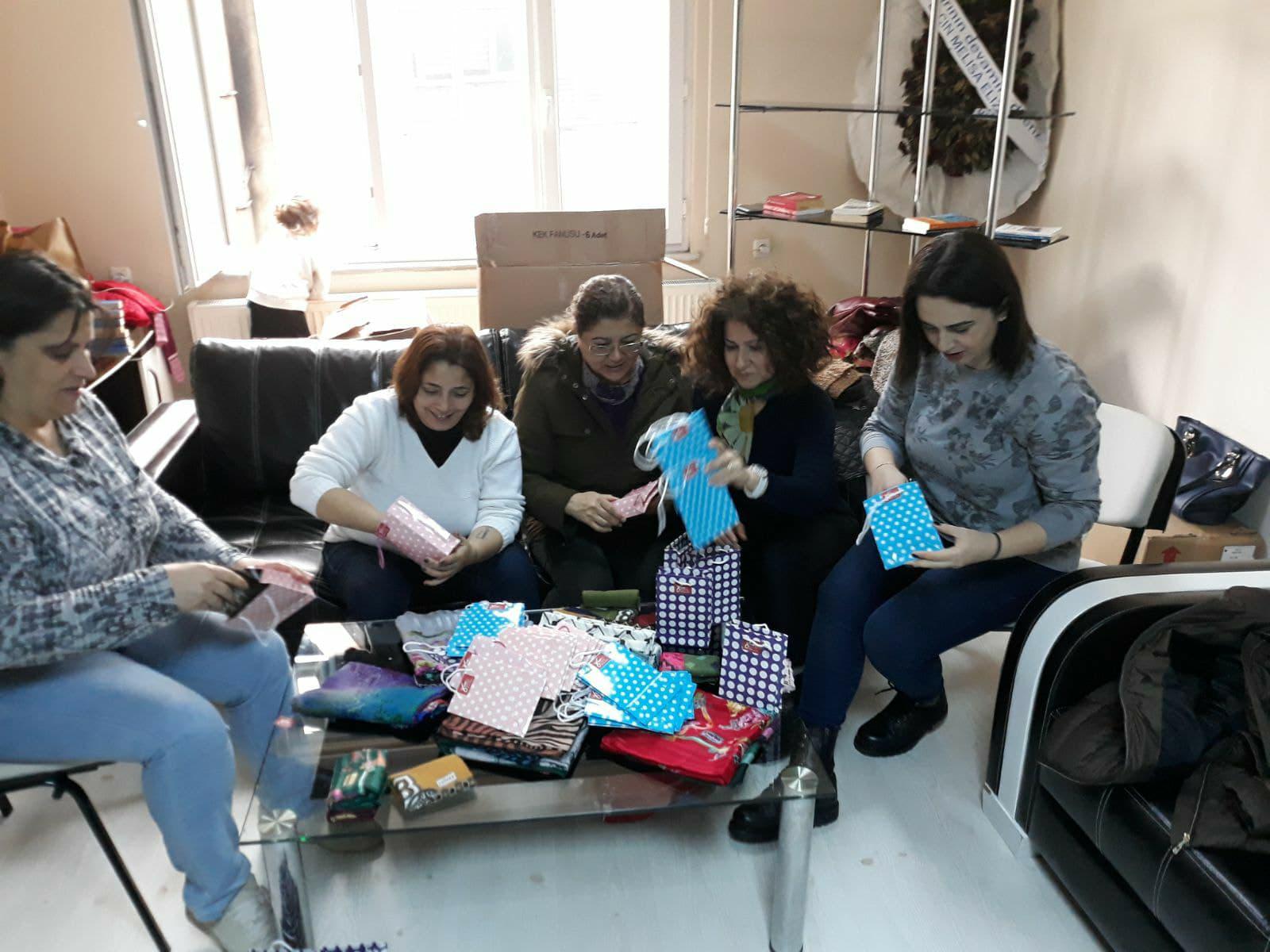 CHP'li kadınlar 8 Mart'ı köylerde kutlayacak