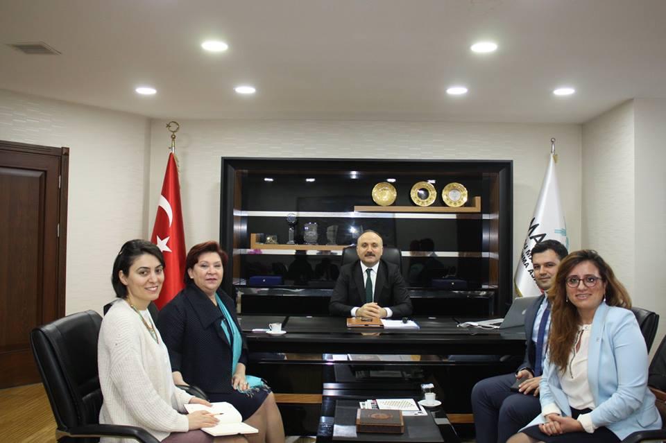 Güher Türker'den MARKA ziyareti
