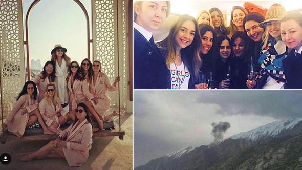 Türk özel jeti İran'da düştü... Uçakta bulunan 11 kişi öldü