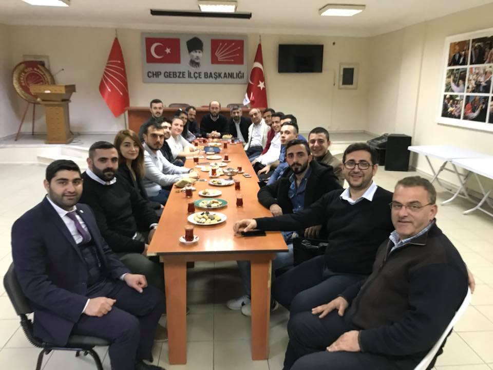 CHP'li gençler Gebze'de toplandı