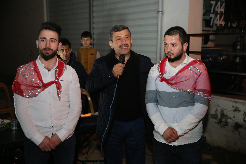 Karabacak asker uğurladı