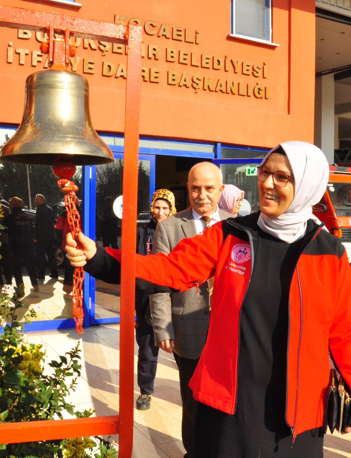 Katırcıoğlu, gönüllü İtfaiyeci olacak
