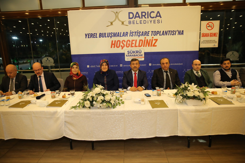 Karabacak sağlık personelini ağırladı