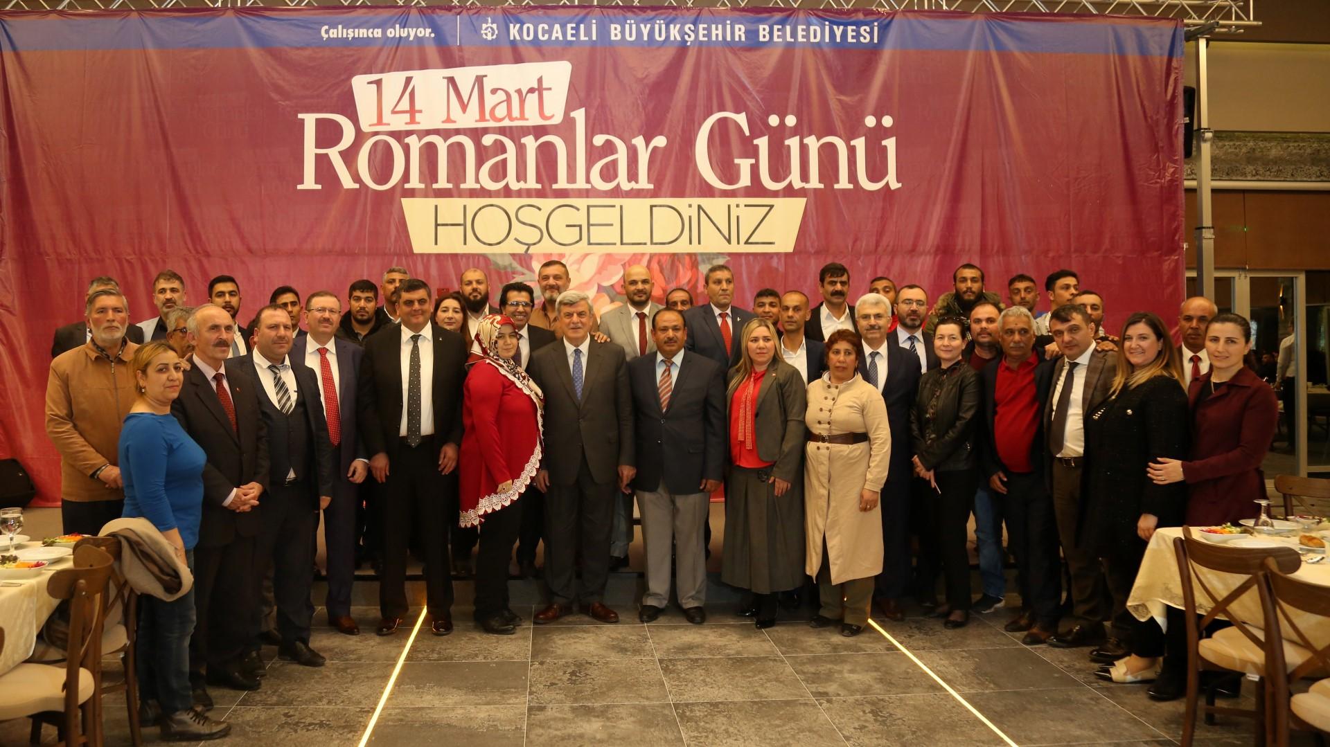 Türkiye Romanlar günü kutlandı