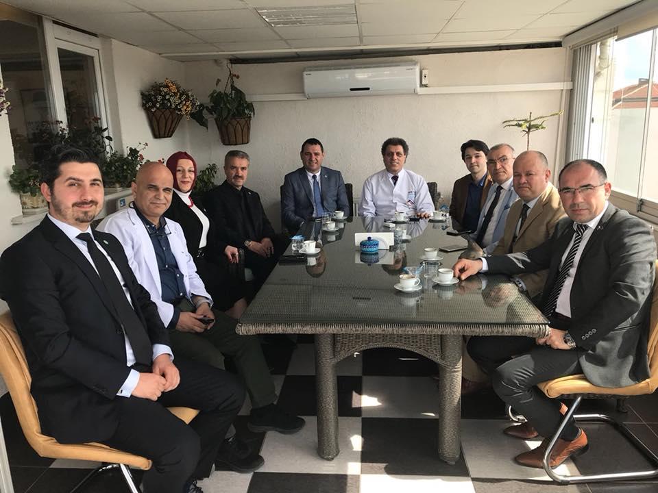 İYİ Parti'den Hakan Höbek'e ziyaret