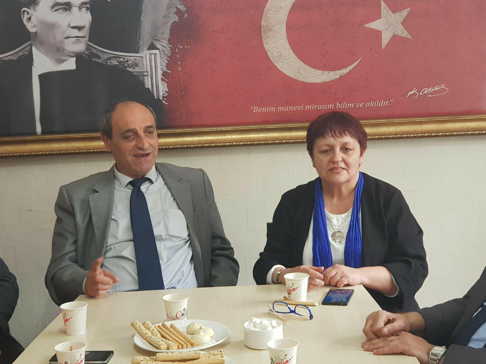 CHP Gebze'den ADD Ziyareti