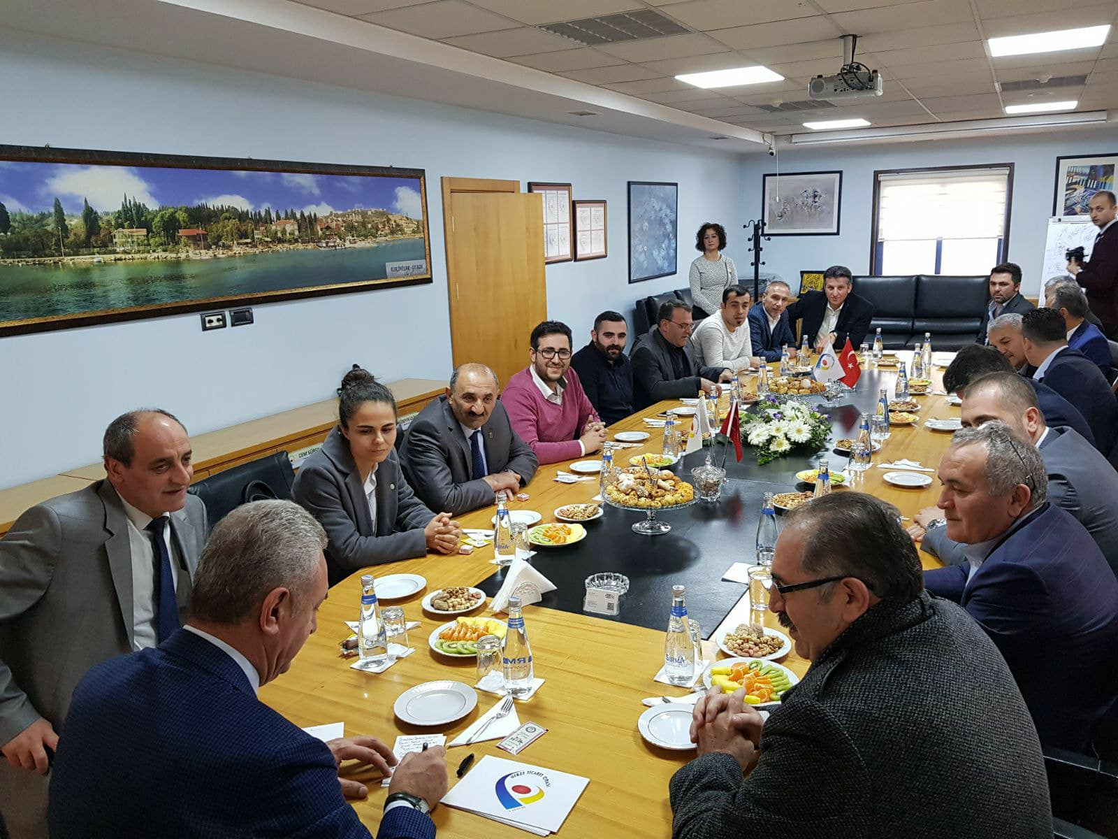 CHP Gebze'den GTO Ziyareti