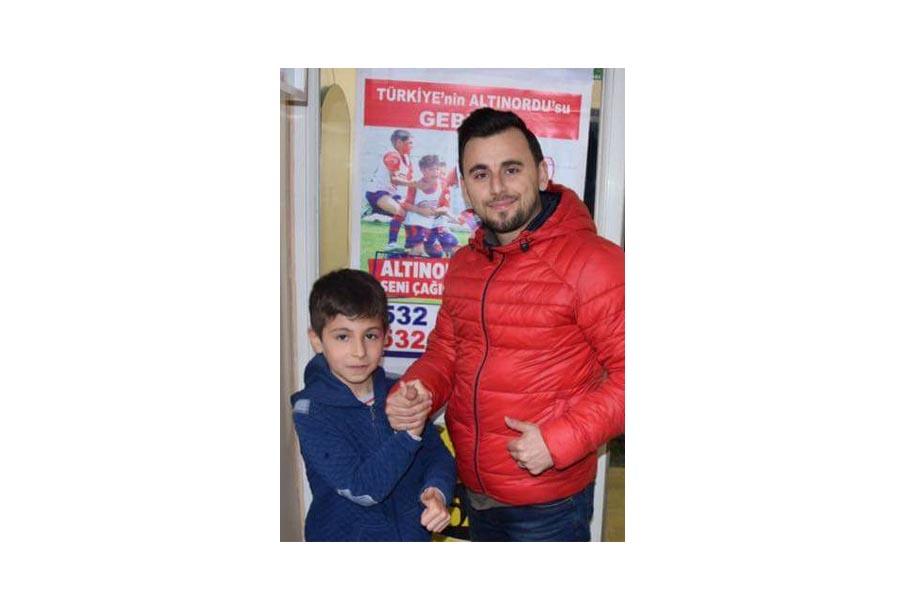 Talha'da Altınordu Gebze Futbol Okulu'nda