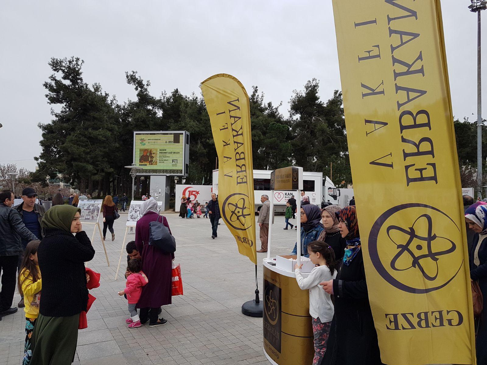 Erbakan Vakfı'ndan Çanakkale Sergisi