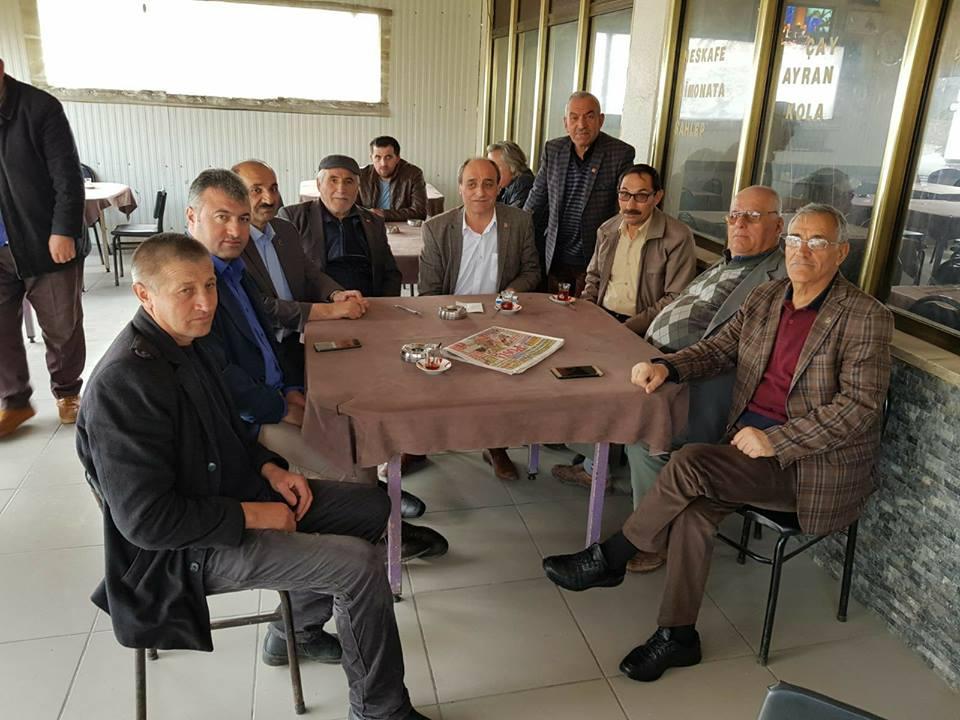 CHP köylere çıkarma yaptı
