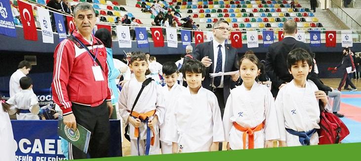 Karateciler ilimizde buluştu