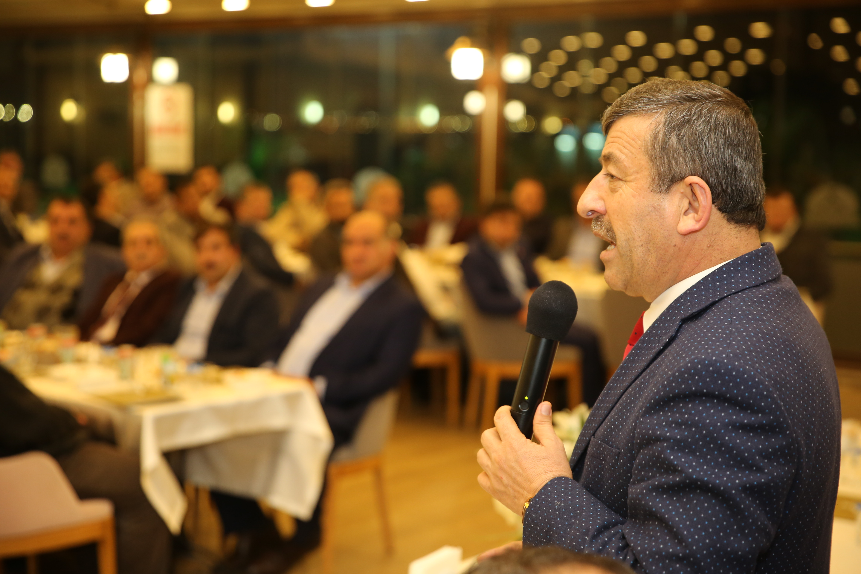 Karabacak dernek başkanlarıyla buluştu