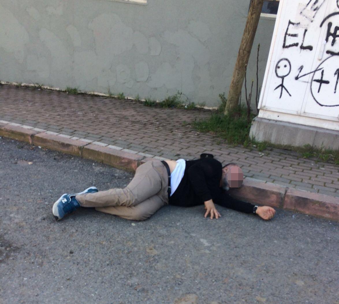 Sokak ortasında vurdu